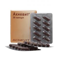 Купить Акневит (Acnevit) капс. №30 в Курске