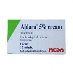 Купить Алдара (Альдара, Aldara) крем саше №12 (Имиквимод) в Курске