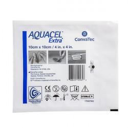 Купить Аквасель повязка с серебром Экстра Гидрофайбер (Aquacel Ag Extra) 10х10см №1 в Курске