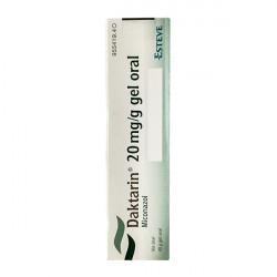 Купить Дактарин 2% (Daktarin) гель для полости рта 40г в Курске