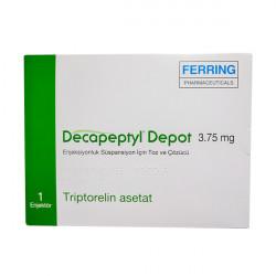 Купить Декапептил депо (Трипторелин) лиоф. для инъекций 3,75мг №1 в Курске