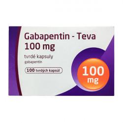 Купить Габапентин (Gabapentin) 100 мг Тева капсулы №100 в Курске