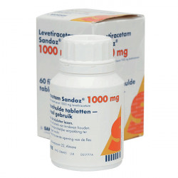 Купить Леветирацетам 1000мг табл. №60 (60 табл./уп) в Курске