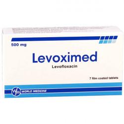 Купить Левоксимед (Levoximed) таблетки 500мг №7 в Курске