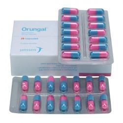 Купить Орунгал 100 мг капс. №14 в Курске